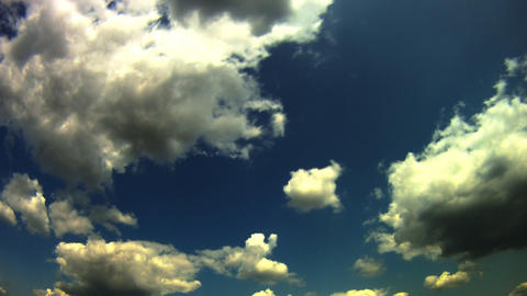 dramatic sky time lapse Stock Video Footage