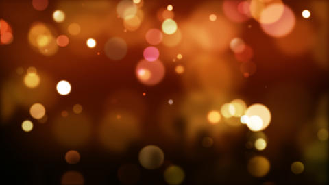 Red defocused Particles_026 Stock Video Footage