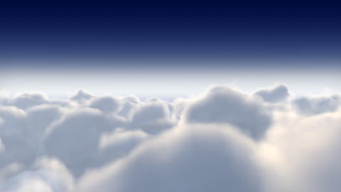 Clouds_022 stock footage