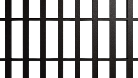 Iron Bars 5 stock footage