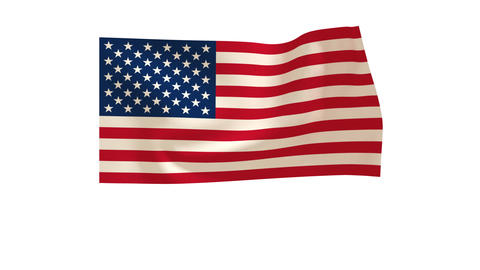 American Flag_014 Stock Video Footage