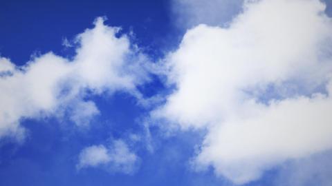 Flight Through Cloud 021 Stock Video Footage