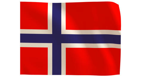 Norway flagg 019 Animation