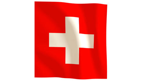 Swiss flag_020 Animation