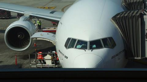 Pre-flight preparations Footage