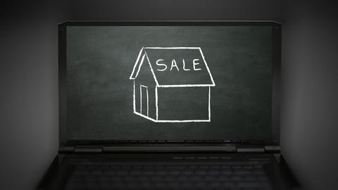 house sale Animation