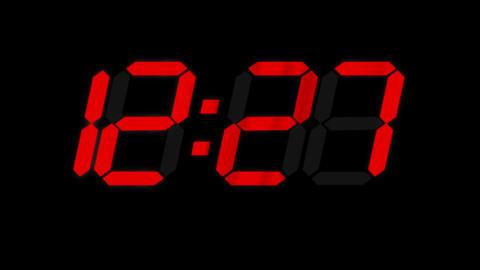 clock 2 Stock Video Footage