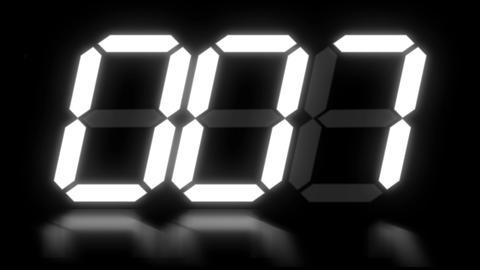 clock 8 Stock Video Footage