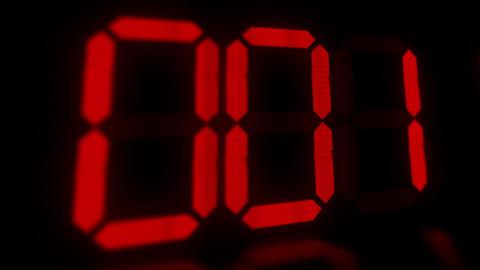 clock 10 Stock Video Footage
