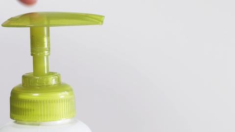 Splashing liquid soap Stock Video Footage