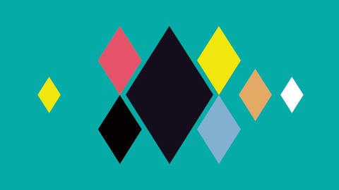 Triangle diamond Stock Video Footage
