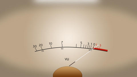 audio meter Animation