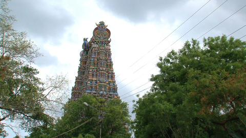 Meenakshi Temple Footage