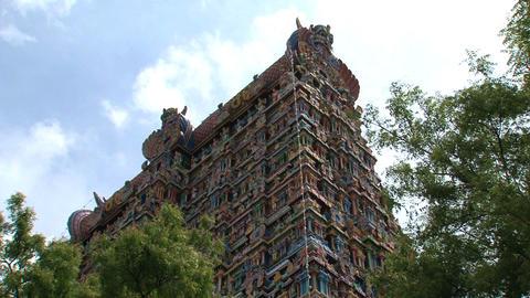 Meenakshi Temple Stock Video Footage
