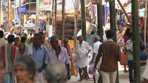 crowd Meenakshi Temple Stock Video Footage