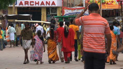 India people Stock Video Footage
