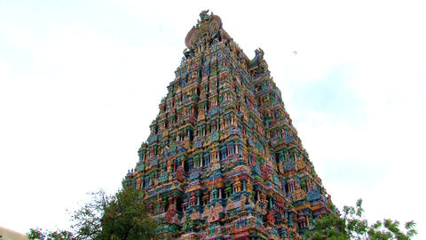 The Meenakshi Temple Footage