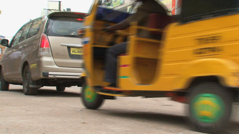 tuk tuks Stock Video Footage