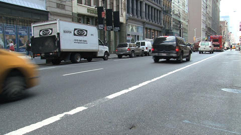 broadway street Stock Video Footage