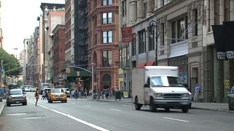 broadway street Footage