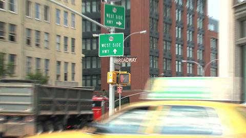 raffic light zoom out Stock Video Footage