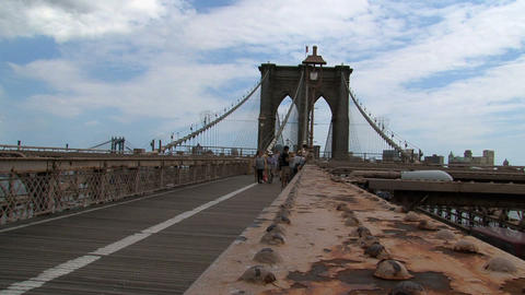 brooklyn bridge Stock Video Footage