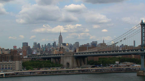Manhattan bridge Footage