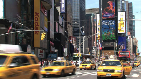 Times Square Footage