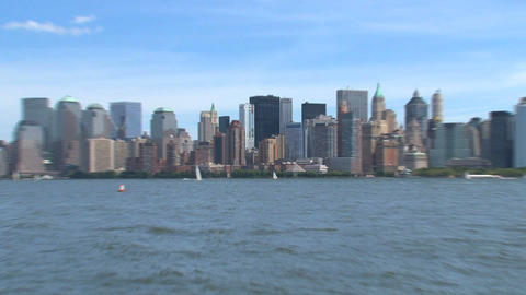 Zoom out New York Stock Video Footage