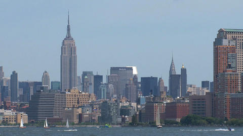 empire state Stock Video Footage