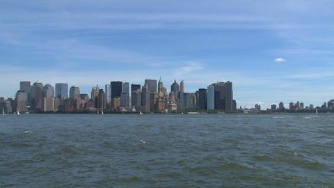 Skyline NYC Stock Video Footage