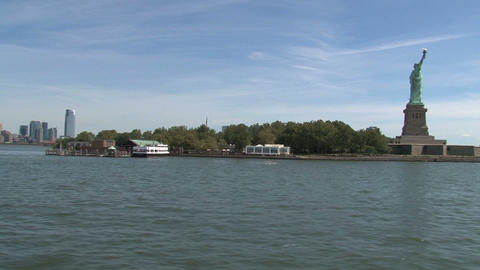 Liberty island Footage