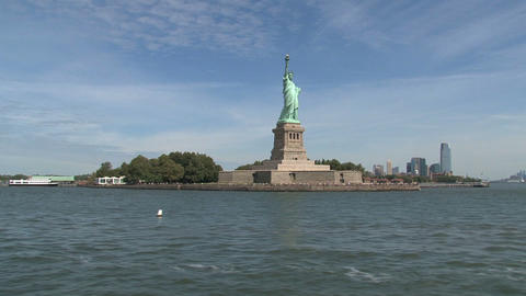 The Statue of Liberty Footage