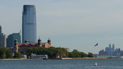 Ellis island Stock Video Footage