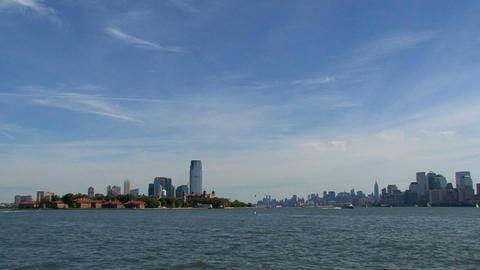 New York City skyline Stock Video Footage