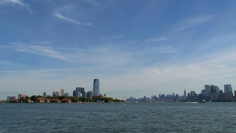 New York City skyline Stock Video Footage