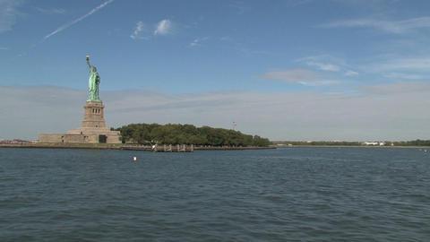 Liberty island Stock Video Footage