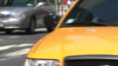 Yellow cabs Footage
