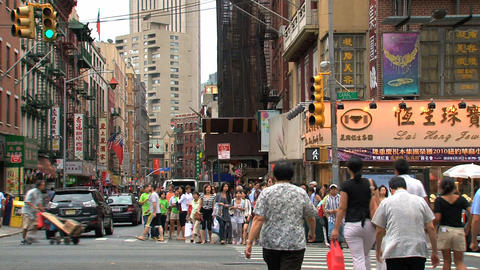 Chinatown Stock Video Footage