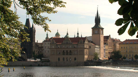 Old Town Prague Stock Video Footage