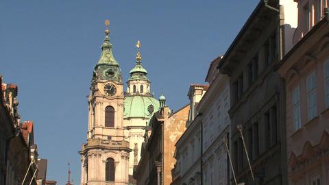 St nicholas church Stock Video Footage