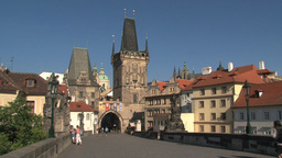 Prague castle Footage