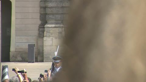 Guards Stock Video Footage