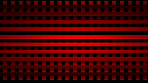 red grid Animation