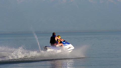 Water Activities HD Stock Video Footage