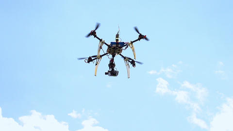 Quadcopter HD Stock Video Footage