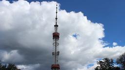 TV transmitter Stock Video Footage