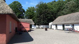 Bunratty Folkpark 1 Stock Video Footage