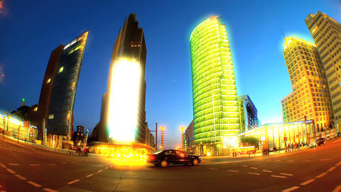 11590609FUTURISTICNIGHTLAPSEEX3 Stock Video Footage
