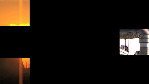 11730609ENVIRONMENTALMONTAGEEX3 Stock Video Footage